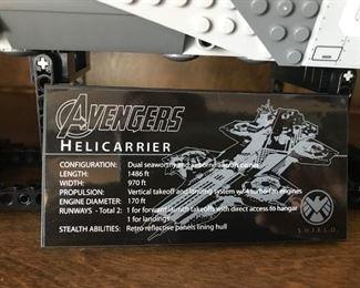 LEGO - AVENGERS HELICARRIER