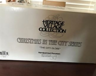 """Heritage Village Collection, """"Christmas in the City Series"""""""