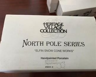 """Heritage Village Collection, """"North Pole Series"""""""