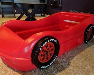 Little Tikes race car bed (no mattress)