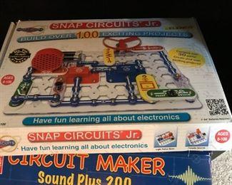 Educational Snap Circuit Jr and Circuit Maker