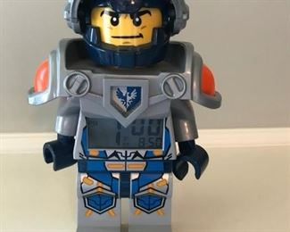 Lego Nexo Knights Alarm Clock