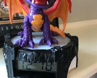 Childs Dragon Clock