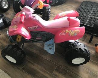 Fisher Price Barbie Kawasaki