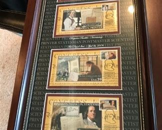 Benjamin Franklin Limited Edition Collectible- with C.O.A. 946/3000