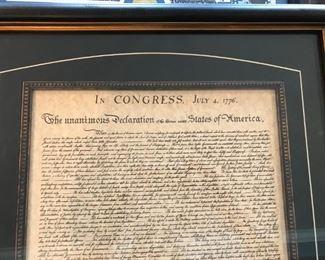 """Declaration of United States of America"""
