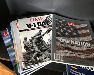 Time and Life magazines