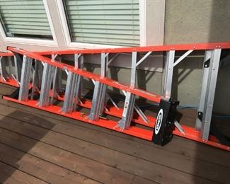 Werner Ladders - 6-foot and 10 foot
