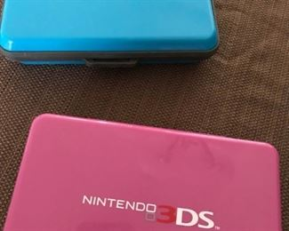 Nintendo DS and 3DS plus games
