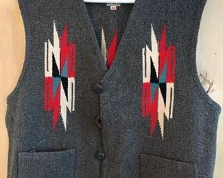 Vntage Ortega's Chimayo vest, like new