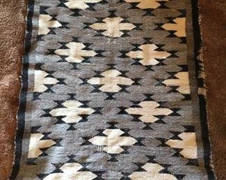 Vintage Navajo rug, as is