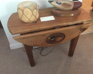 Duck end table