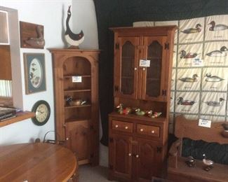 Great wood cupboards