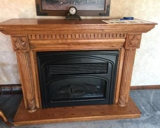Electric Log Fireplace
