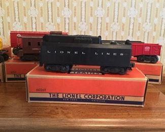Lionel Train Set with original boxes & Tracks