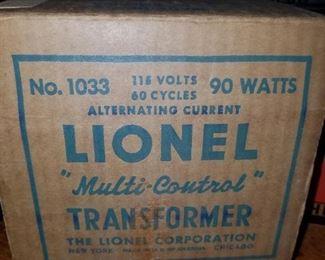 Lionel Train transformer