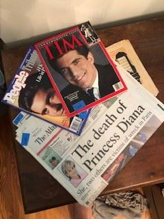 Time Magazines and Newspaper