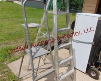 9 2 alum step ladders