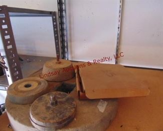 21 Stone grind wheels