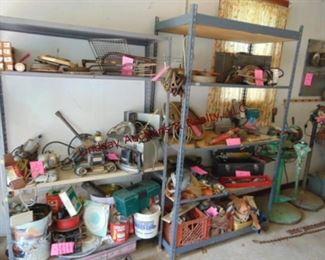 20 metal shelving