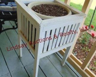 168 wood planter boxes