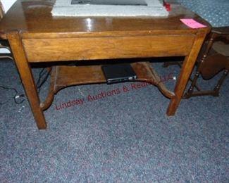 289 oak wood table