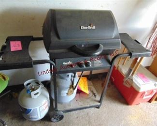 163 gas grill