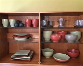 Ceramic Dishware and Glasses