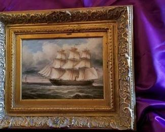 "Raffle Item:  Framed Oil on Canvas   26"" X 24"""