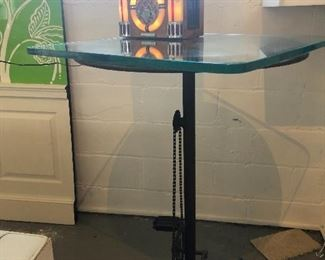 Super different bar high top table.