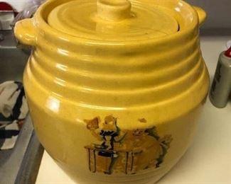 Antique Alice in Wonderland cookie jar
