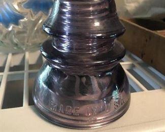Purple insulator