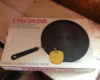 Circulon cookware still in the box