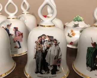 Norman Rockwell Bell collection