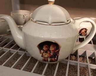 Beautiful Hummel tea set