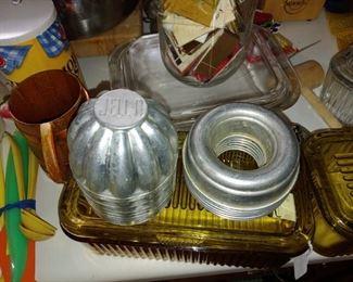 Vintage Jell-O molds