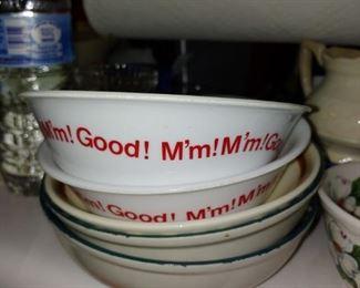 Corelle Campbell soup bowls