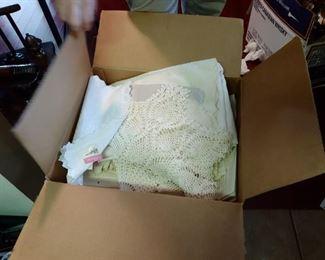 Granny's box of Linens