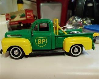 Diecast metal BP Truck