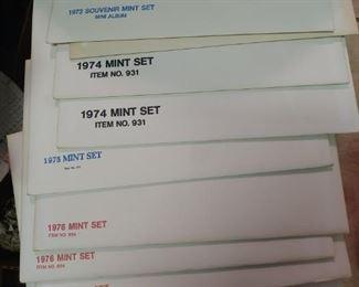 Stamp mint sets