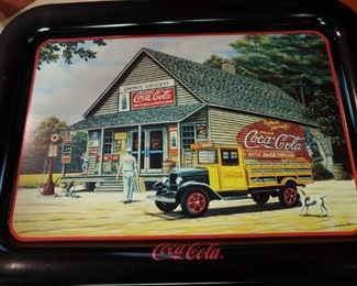 Smith's grocery store Georgia Coca-Cola tray