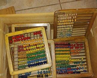 Wooden Vintage abacus