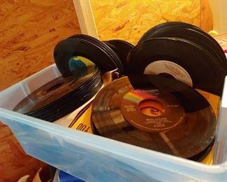 45 vintage records