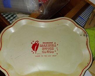 Metal Maxwell House Coffee tray