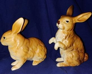 Beautiful Lefton rabbits