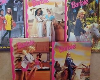 Love these 1980s Barbie books