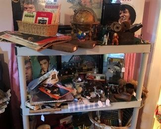 We have quite the Elvis collection
