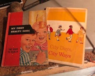 Vintage primary books