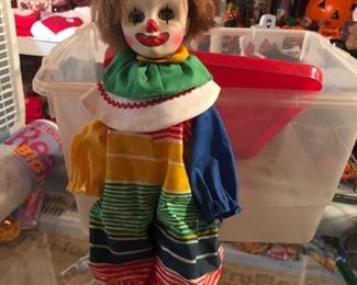 """Effanbee's """"Here Come The Clowns"""" Collection, Homer Clown vintage 1984"""