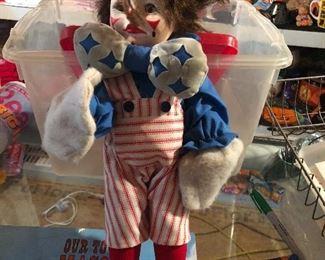 """Faith Wick Clown Doll Effanbee 1979 Vinyl 15"""""""